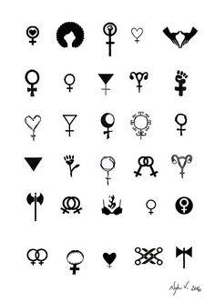 #TattooSymbolism #Tattoos Evento disponibiliza tatuagens feministas durante o fim de semana, click for more info..