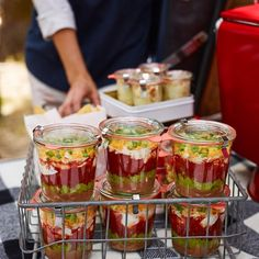 Our 7-Layer Dip is the perfect addition for any tailgate! Check out the recipe on our blog #wstaste #Padgram