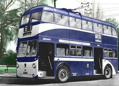 Hull Corporation Transport trolley bus