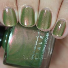 Femme Fatale Cosmetics Infamous Riddle | The Mad Tea-Party Collection | Peachy Polish