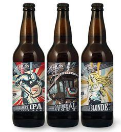 Excelentes empaques y gráficas de cervezas