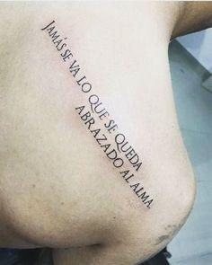 Algunas frases largas para tatuajes desde 5 palabras a mas -