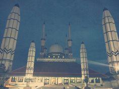 Masjid Agung Jawa Tengah (MAJT) in Semarang, Jawa Tengah