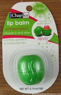 Chap·Ice Lip Balm Watermelon Revo