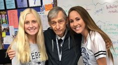 Walter Erickson, is a retired teacher who's been a substitute in a Minneapolis school district since Almost every day of the school year, Erickson is at Champlin Park High School. Feel Good Stories, Teacher Retirement, Substitute Teacher, News Update, Property Management, Calgary, Good News, Raising, Surgery