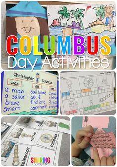 Columbus Day Activit