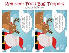 To make reindeer food free printable reindeer food poem included html