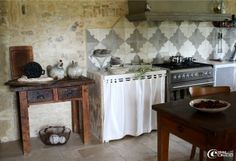 La cuisine du gîte « C'est si bon » à Bagnols-sur-Cèze