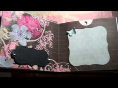 Mini Album from recycled business return envelopes - Part 2