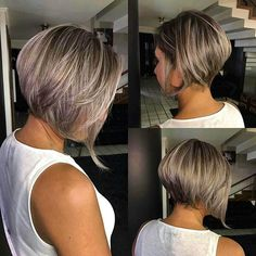 Best New Bob Hairstyles 2019 Best New Bob Hairstyles Would you like to get a new look? We offer you to check the New Bob Hairstyles 2018 – 2019 we have handpicked just for you. Short Stacked Bob Haircuts, Short Stacked Bobs, Layered Bob Short, Best Bob Haircuts, Short Hair Cuts, Short Hair Styles, Bob Hairstyles 2018, Angled Bob Hairstyles, Wedding Hairstyles