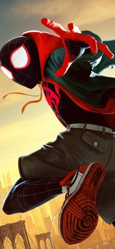 Drawing Superhero Miles Morales - Ultimate Spider-Man, Into the Spider-Verse Amazing Spiderman, Black Spiderman, Spiderman Art, Marvel Comics, Marvel Vs, Marvel Heroes, Ultimate Spider Man, Man Wallpaper, Avengers Wallpaper