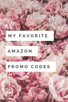 My Favorite Amazon Promo Codes - Just Me Growing Up - Want to save money while shopping on Amazon? Use these promo codes to save on great products!