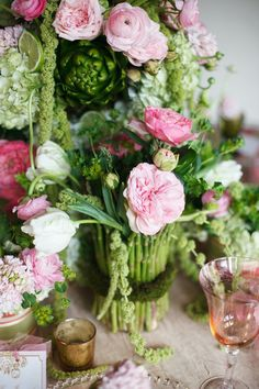 French Garden Wedding Inspiration Wedding Reception Photos on WeddingWire