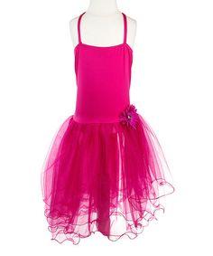 Fuchsia Tutu Dress - Toddler & Girls #zulily #zulilyfinds