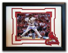 Adam Wainwright. St. Louis Cardinals. Autographed 8x10 photo.