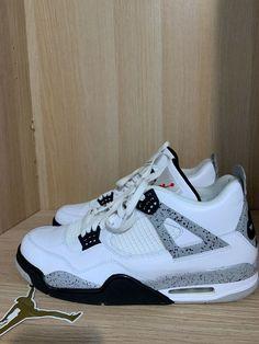 d7b934f9972273 Nike Air Jordan IV 4 Retro WHITE CEMENT SUPER RARE 10 10 CONDITION VNDSSSSS   fashion  clothing  shoes  accessories  mensshoes  athleticshoes (ebay link)