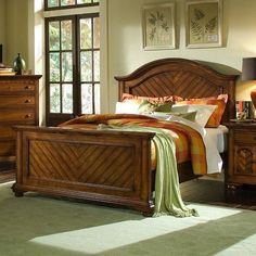 River Oaks Collection Sleigh Bed - 5 Piece Set - Queen | Sam\'s club ...