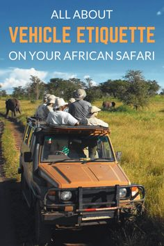 Most of your time on safari will be spent in the back of a safari vehicle which you will likely share with a number of other keen 'safari goers' – it is worth keeping a few basic rules of vehicle etiquette on safari in mind. South Africa Safari, Tanzania Safari, East Africa, Kenya Travel, Africa Travel, Land Rover Defender, Zanzibar Beaches, Chobe National Park, African Safari
