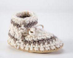 Padraig Cottage, Baby Slippers sz 3-7 – Tolt Yarn and Wool