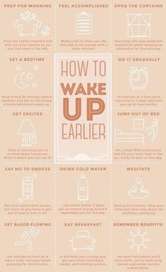 Good Habits, Healthy Habits, Healthy Morning Routine, Morning Habits, Morning Routines, French Beauty, French Tips, Self Care Activities, How To Wake Up Early