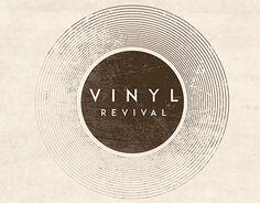 """Check out new work on my @Behance portfolio: """"Vinyl Revival Logo"""" http://be.net/gallery/32245419/Vinyl-Revival-Logo"""