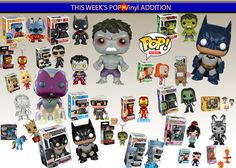 Today's Addition to www.gameskeysaustralia.com #funko #popvinyls #avengers2 #dccomics #batman #vision #allthempopvinyls