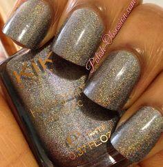 Polish Obsession: Kiko - 400  nails, nail polish, nail swatches, holographic