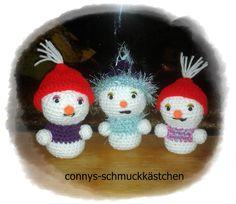 meine Schneemänner