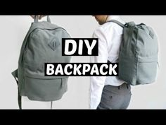 DIY MOCHILA VUELTA AL COLE | BACKPACK | PATRONES GRATIS - YouTube