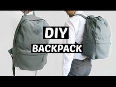 Diy Backpack | Back to school !! - YouTube