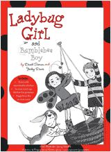 Ladybug Girl and Bumblebee Boy Party/Activity Kit (Poster, Worksheets & Stickers) - TeacherVision.com