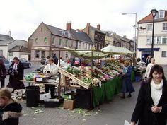 Market, Berwick-upon-Tweed, Northumberland, UK