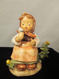 Hummel Figurine Goebel Make a Wish 475 by MyRedFlamingo on Etsy, $55.00