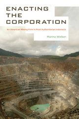 'Enacting the Corporation: An American Mining Firm in Post-Authoritarian Indonesia' (UC Press, 2014) by Marina Welker (Cornell University)