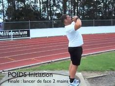 SHOT PUT Linear Exercises by Didier POPPE PART 3 : 5-POWER POSITION 6-DELIVERY