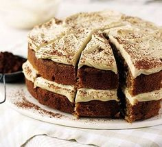 Cappuccino cake - bbc good food