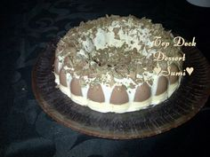 Top Deck Dessert recipe by Sumayah posted on 21 Jan 2017 . Recipe has a rating of by 1 members and the recipe belongs in the Desserts, Sweet Meats recipes category Custard Desserts, Delicious Desserts, Appetizer Recipes, Dessert Recipes, Appetizers, Sweet Meat Recipe, Food Categories, Pudding Recipes, Tiramisu