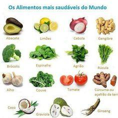 Os alimentos mais saudáveis do mundo - Imagem do Instagram