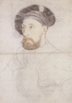 Sir Nicholas Carew, by Hans Holbein the Younger