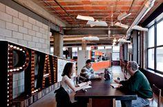 Skidmore Studio, Detroit: Kitchen / Breakout Area