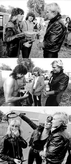 Michael Schenker* & Judas Priest (Glen Tipton,Rob Halford,KK Downing) 1980