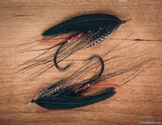 Black Gordon SpeyI found this pattern from Bob Veverka's book Spey Flies: How to Tie Them. There's a plate of Steelhead Speys by Oregon tier Brad Burden and it's one of my favorite plates in the whole book. I used hen hackle for the wings as opposed to rooster. They have a more opaque and dense structure and due to their shape have not been usable on this sort of application before. But these modern hen capes, like the Whiting Hebert Miner I used, have longer feathers on ...