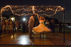 Holly and Cory's Outdoor Vintage Inspired Wedding