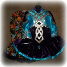 The Velvet Castle Irish Dance Solo Dress Costume