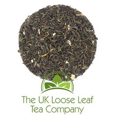 Jasmine with Petals. Flavoured green tea with Jasmine flavour.  A gentle, pure Chinese tea - only refined with delicate jasmine flowers original to create a perfect harmony.  Ideal with spicy food.  Cup Colour: yellow-green  Brewing time: 2-3 min.