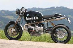BMW Cafe Racer #motorcycles #caferacer #motos | caferacerpasion.com: Moto Cafe, Cafe Bike, Bmw Cafe Racer, Street Motorcycles, Custom Motorcycles, Retro Motorcycle, Cafe Racer Motorcycle, Bobber Custom, Motorbike Design