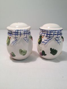 Salt and Pepper Shakers by TheCharmingAttic on Etsy, $5.00