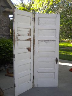 Family doors -- from the past,  here and now and for the future