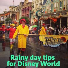 Simple tips that can help you make the most of your Disney World trip, even if there's rain in the forecast