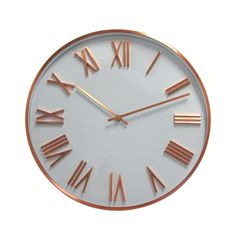 Degree Copper Wall Attic Dusk Clock 40cm